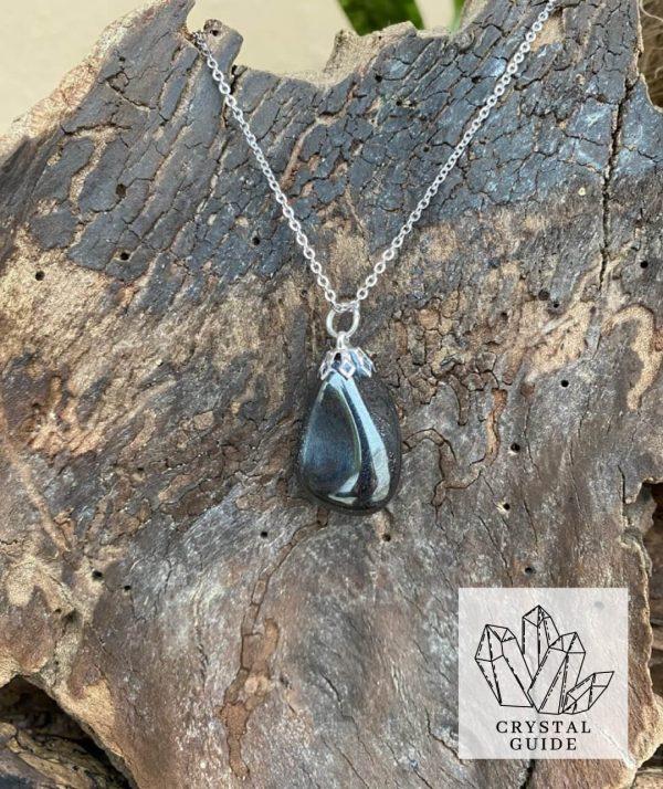 Hemitite Silver Necklace